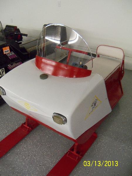 1965 AC TomCat 2C Hirth Motor