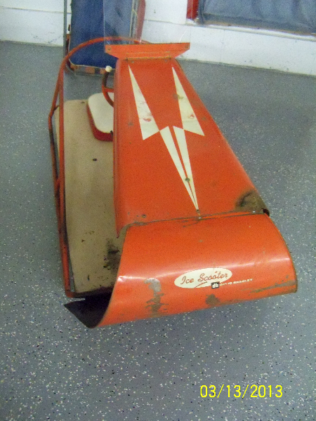 60\'s Vintage Ice Scooter