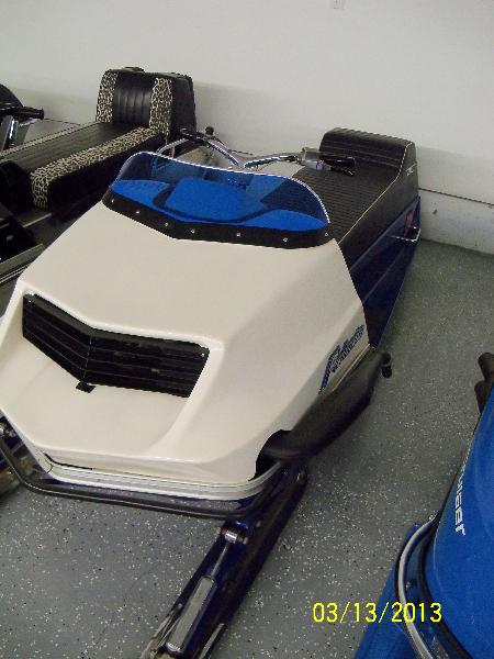 1972 Polaris TX440 Starfire Racer