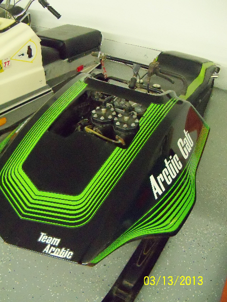 1976 Arctic Cat Racer