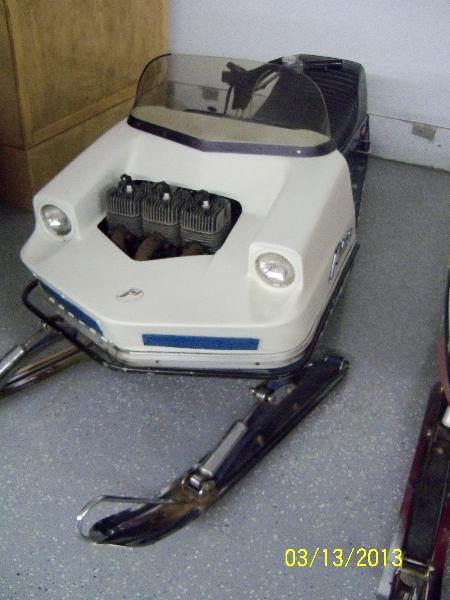 1972 Polaris TX500 Racer
