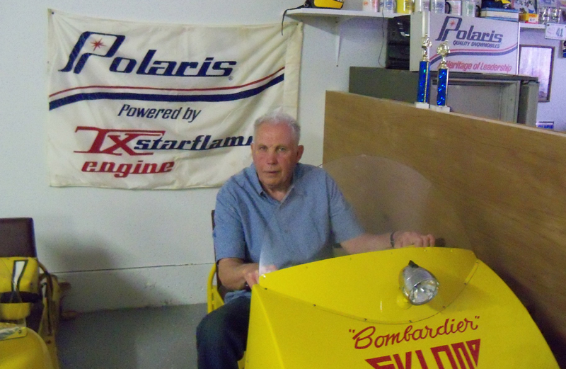 Mr. Snowmobile, Paul Crane, owner of Crane's Snowmobile Museum, was the first American to ride a snowmobile!  Paul invites you to visit the museum and view over 100 vintage machines.
